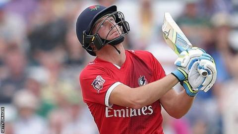 Jos Buttler was making his fourth Lancashire appearance of the summer after knocks of 10, 23 and 56 not out in the T20
