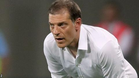 West Ham manager Slaven Bilic