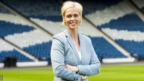 Scotland head coach Shelley Kerr