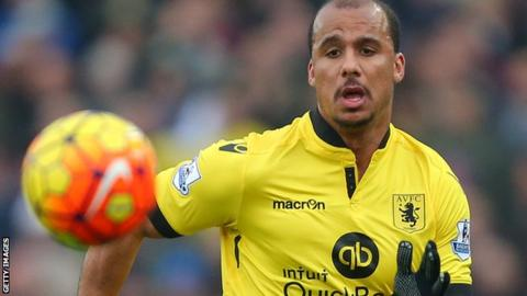 Agbonlahor has played three times for England