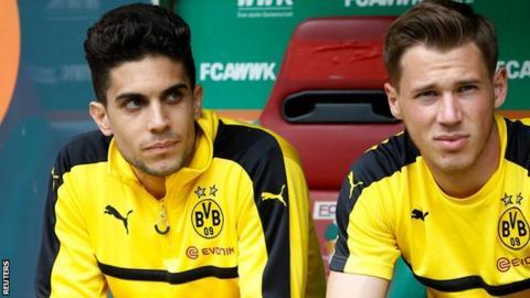 Bartra plays for Dortmund after attack