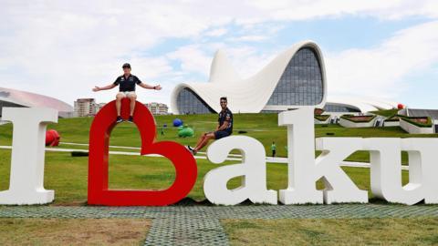 Baku sign