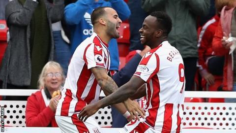 West Brom 1-1 Stoke City: Spoils split at Hawthorns