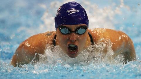 British Para-swimmer Stephanie Millward