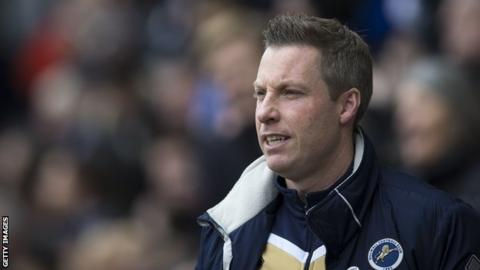 Millwall's Hutch in contention to face Leicester