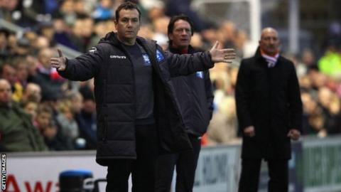 Micky Mellon took on Ian Holloway's then Premier League side Blackpool when he was manager of then non-league Fleetwood in January 2012
