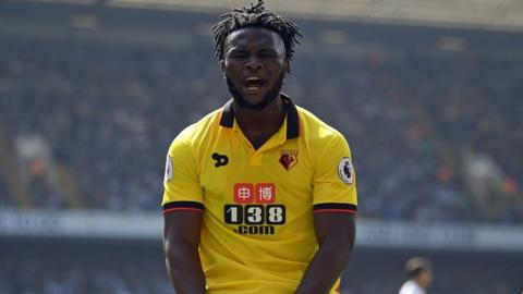 Isaac Success of Watford and Nigeria