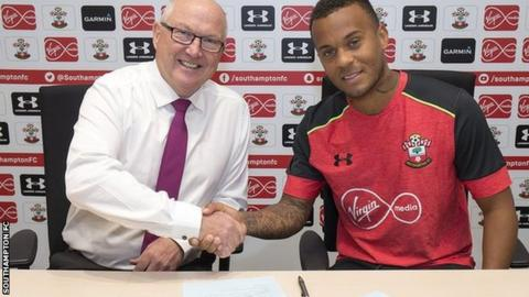 Les Reed and Ryan Bertrand