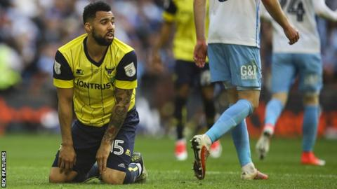 Oxford striker Kane Hemmings