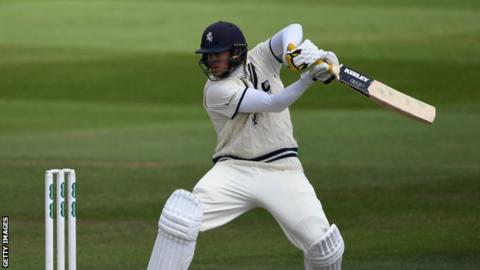 Sam Northeast ended the day just three runs short of an 18th first-class century