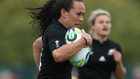 New Zealand's Portia Woodman