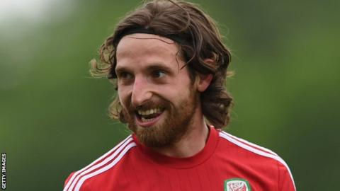 Stoke midfielder Joe Allen