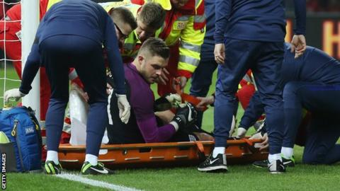 'Devastated' Butland set to miss Euros