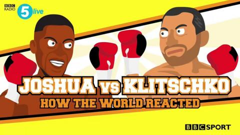 Joshua beats Klitschko - best moments memes & reaction