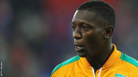 Ivory Coast midfielder Max Gradel