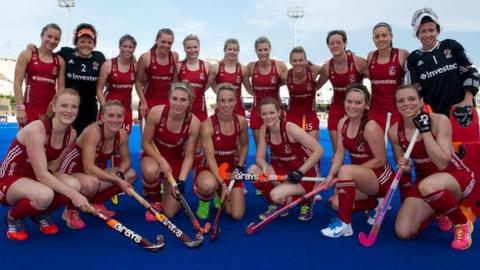 Great Britain's women hockey team
