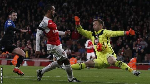 Artur Boruc has made 32 appearances for Bournemouth this season