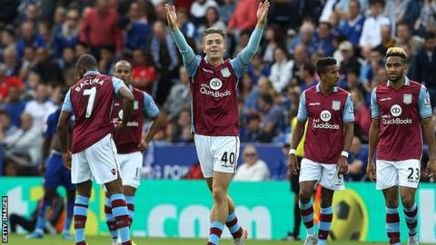 Jack Grealish has scored one goal for Aston Villa this season