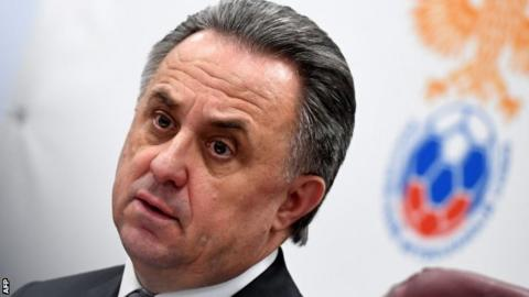 Russia's World Cup head Vitaly Mutko