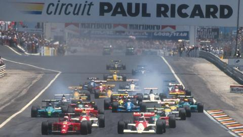 French Grand Prix in 1990