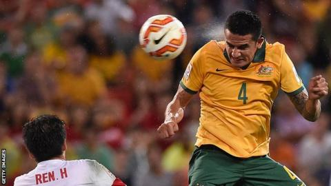 Tim Cahill leaves Chinese football