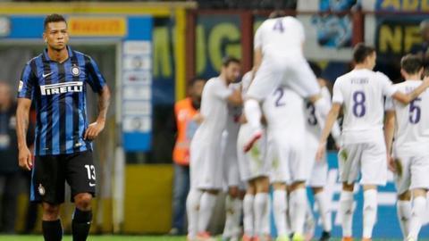 Inter Milan 1-4 Fiorentia