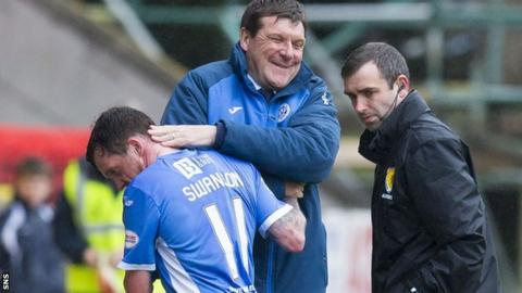 Tommy Wright and Danny Swanson