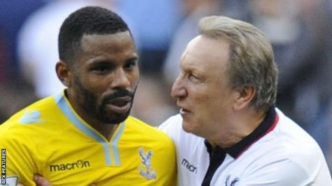 Jason Puncheon and Neil Warnock