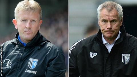 Ady Pennock and Peter Taylor