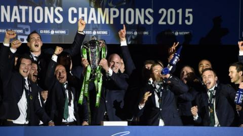 Ireland were crowned Six Nations champions for the second successive year after a dramatic final round of fixtures on 21 March