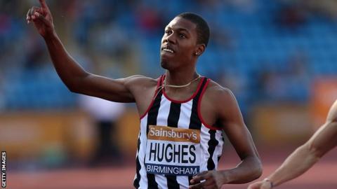 Great Britain's Zharnel Hughes