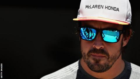 Suspension issue shortens Alonso's 1st work day at Indy
