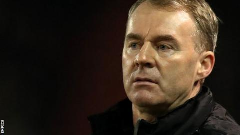 Former Ireland global John Sheridan sacked as Oldham Athletic manager