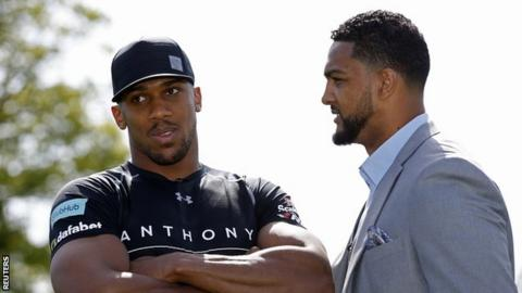 Anthony Joshua and Dominic Breazeale