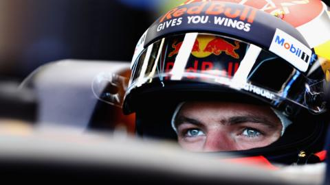 Max Verstappen of Red Bull