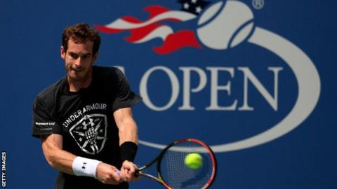 Andy Murray is looking to win the US Open for the first time since 2012