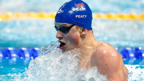 Adam Peaty home