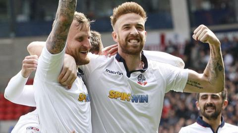 Bolton celebrate
