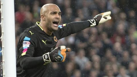 Carl Ikeme: Wolves goalkeeper diagnosed with acute leukaemia