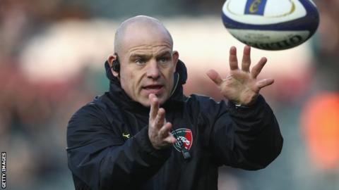 Richard Cockerill enjoyed a trophy-laden spell in his time with Leicester Tigers
