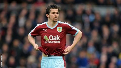 Rangers move to sign Burnley's Barton