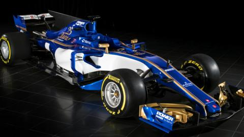Sauber car launch 2017