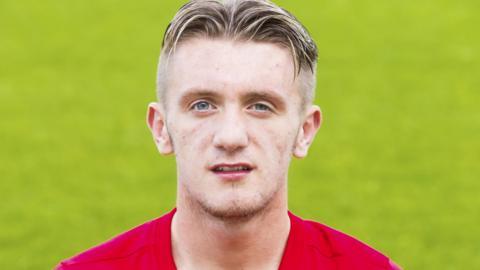 Stirling Albion midfielder Callum Morrison
