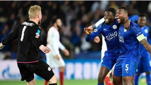 Leicester to play Atletico