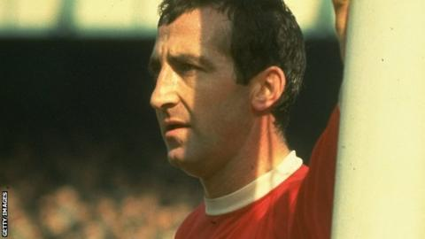 Former England and Liverpool left-back Gerry Byrne