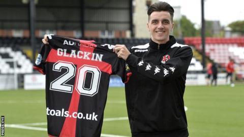 New Crusaders signing Jamie Glackin