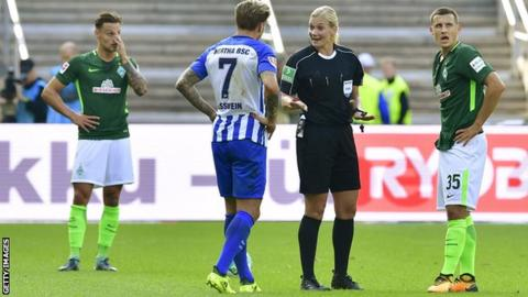 Female Referee Bibiana Steinhaus Set for Historical Bundesliga Debut