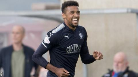 Nathan Austin scored Falkirk's second