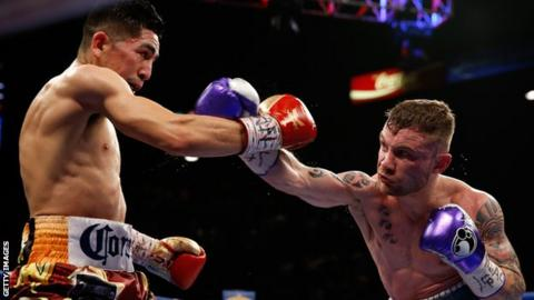 Carl Frampton and Leo Santa Cruz
