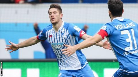 £9m striker Kramaric leaves Leicester